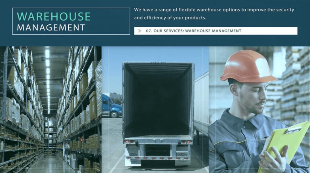 ATI Worldwide Logistic – Slideshow